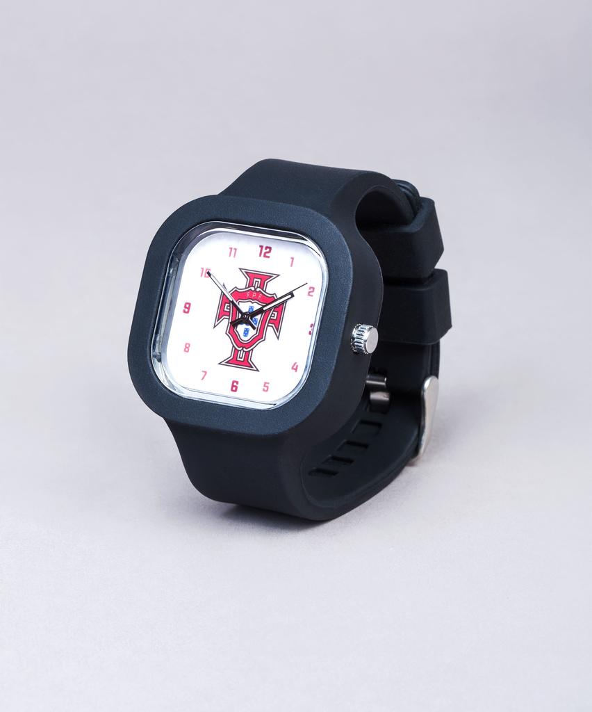 2b71a05ac16 Relógio FPF Branco Mini c bracelete preta